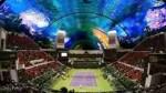 طرح ورزشگاه تنیس در زیر اب!