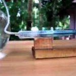 ایده ساخت پمپ هوا با سرنگ!